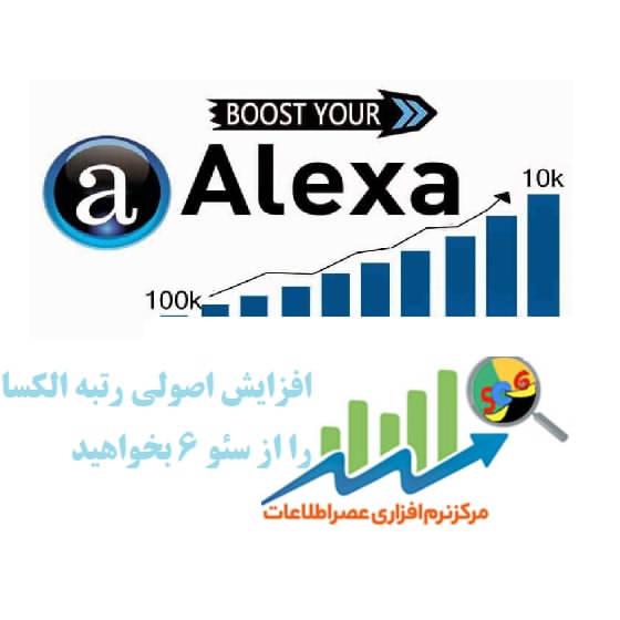 افزایش رتبه الکسا