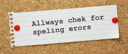 غلط املایی و کیفیت مقاله در سئو دستور زبان و هجی کردن را درست کنید