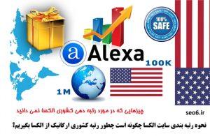 فیلم الکسا درمورد نحوه رتبه بندی سایت الکسا و رتبه دهی کشوری الکسا